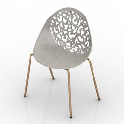 Chair Lace 3d model