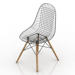Chair Vitra Wire chair DKW 3d model