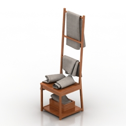 Chair hanger 3d model