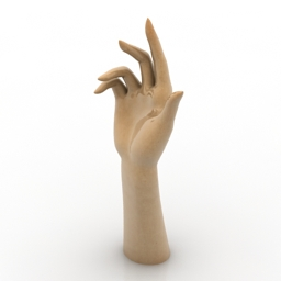 Figurine han 3d model
