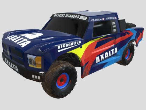 Final Axalta Baja racecar
