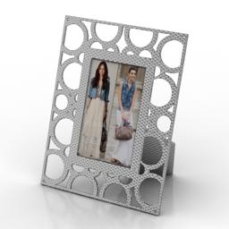 Frame photo 3d model