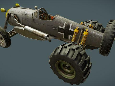 Fw190 Airplane/Car