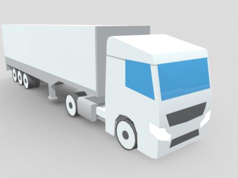 Low-poly truck (Drifter)