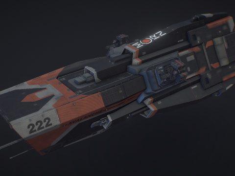 Morrigan class Patrol Destroyer [The Expanse]