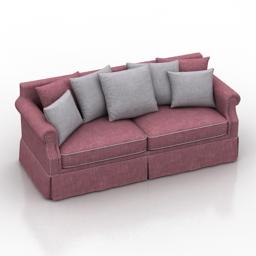 Sofa Burje Dantone home 3d model