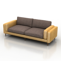 Sofa Portri Dantone home 3d model