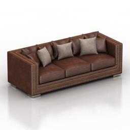 Sofa Tuluza Dantone home 3d model