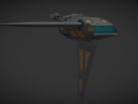 Spaceship - Freighter