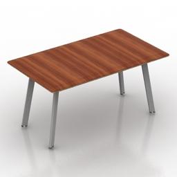 Table Minotti Kirk Cross 3d model