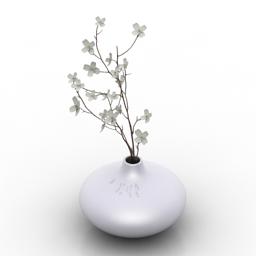 Vase Ikea Salong 3d model