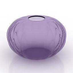 Vase glass 3d model