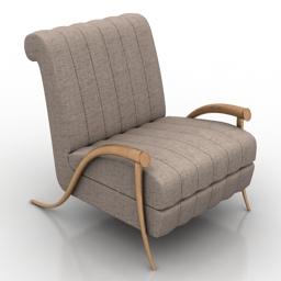 Armchair Visionaire 3d model