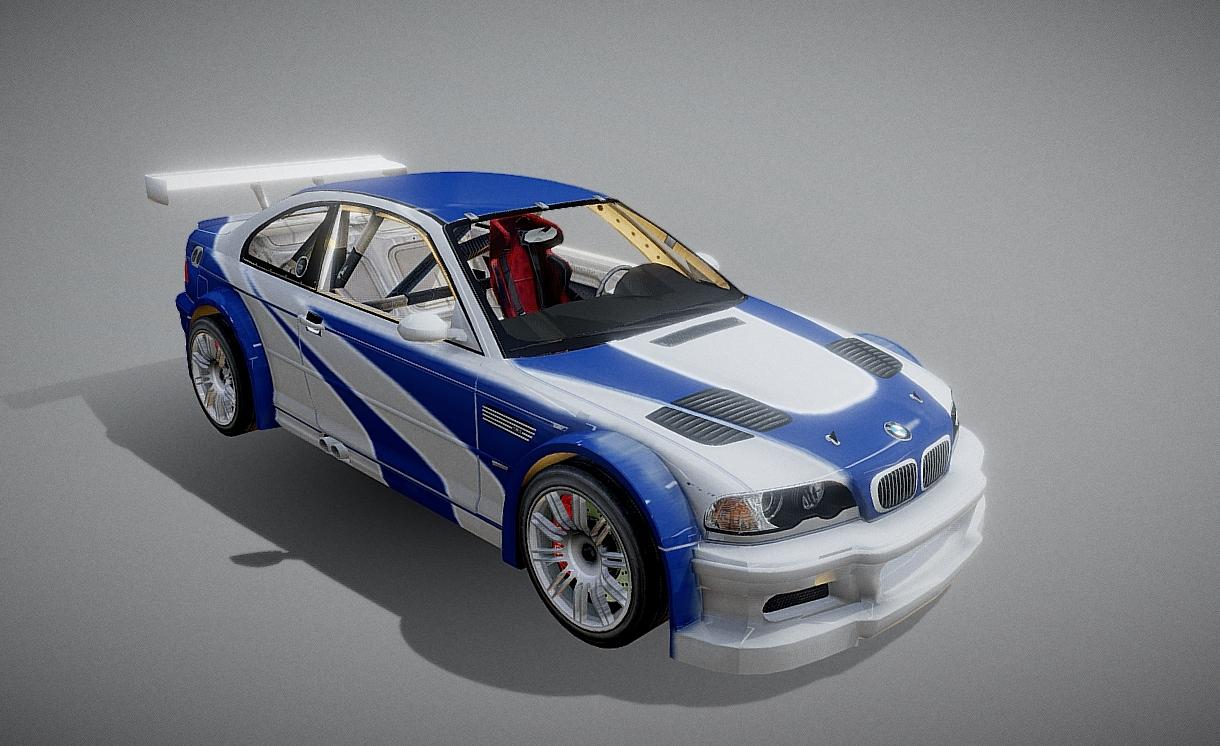 BMW M3 GTR [4K Livery]