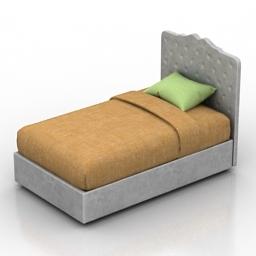 Bed Darlington Dantone home 3d model