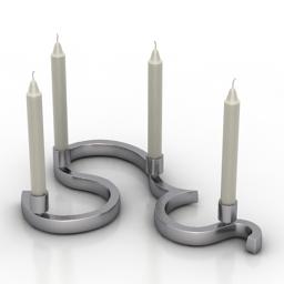 Candlestick DRIADA VON ERLACH II 3d model