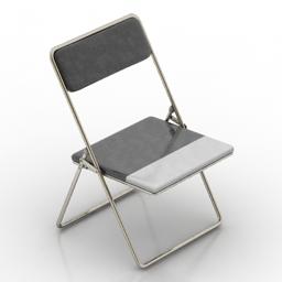 Chair folding 3d model