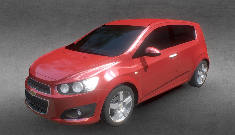 Chevrolet Aveo Sonic 2012