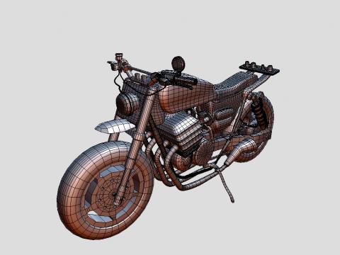 Daryl Motorbike