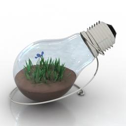 Decor Lamp 3d model