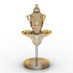 Figurine decor 3d model