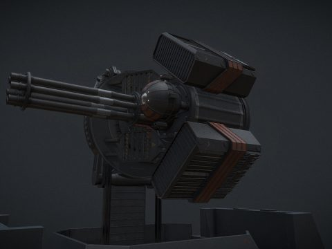MCRN Nariman 40mm PDC [The Expanse]