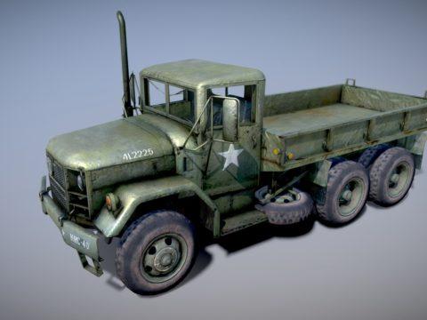 Military Truck 1/2 Ton