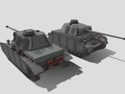 Pz4p5trm tank