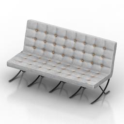 Sofa I Square Designer 3d model
