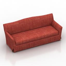 Sofa Lancaster Dantone home 3d model