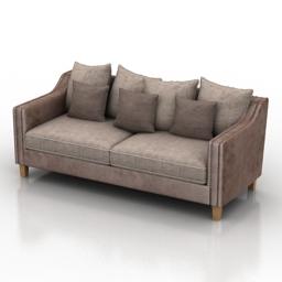 Sofa Lion Dantone home 3d model