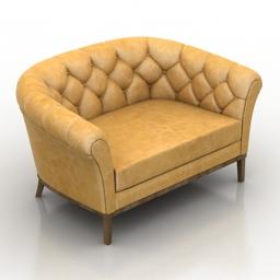 Sofa MUNNA BE MINE 3d model