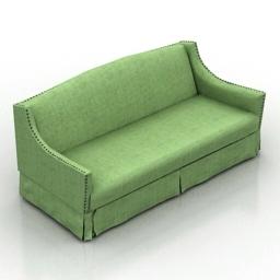 Sofa Meldon Dantone home 3d model