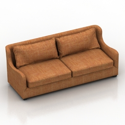 Sofa Nottingham Danton home 3d model