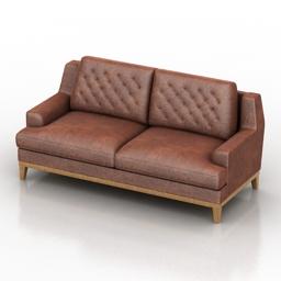 Sofa Vestminster Dantone home 3d model