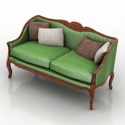 Sofa provance 3d model