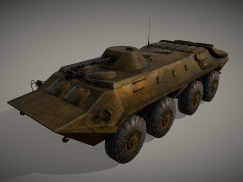 Soviet APC BTR-70