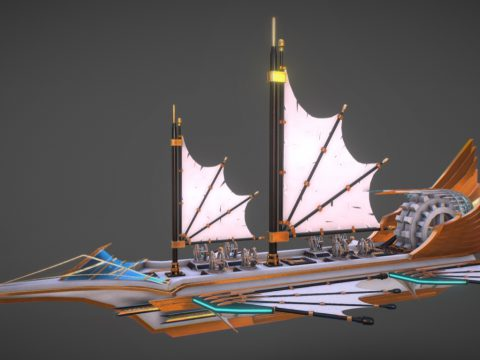 Steampunk Ship concept