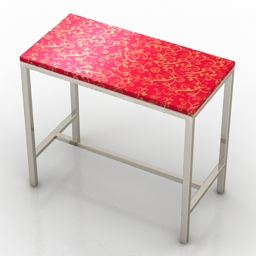 Table bar Bravo Formdecor 3d model