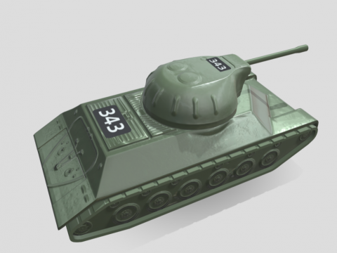 Tank toy from Sega's Goldeneye Pinball