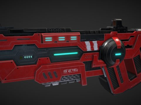 Ultimate Assault Shotgun - Laser Assault Rifle