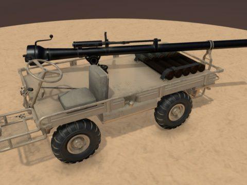 Utility Platform Truck