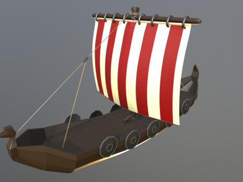 Viking Inspired Longship