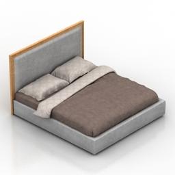 Bed Istborn Dantone home 3d model