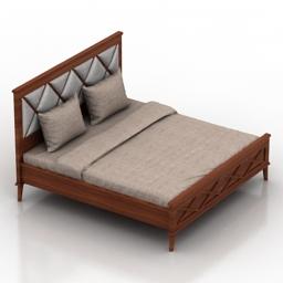 Bed Koventri Dantone home 3d model