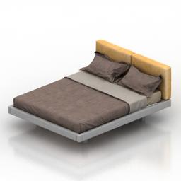 Bed astron vega 3d model