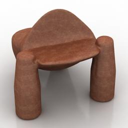 Chair Robert Brou Gorilla 3d model