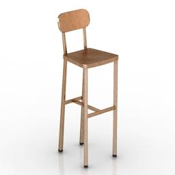 Chair bar Design FJ Deja Vu 3d model