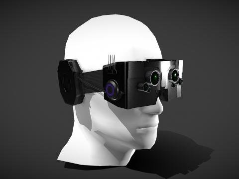 Cyberpunk Headset