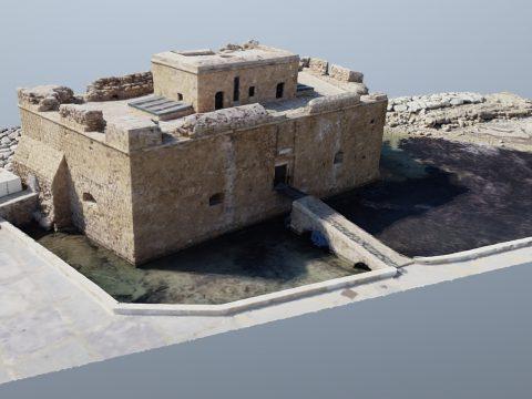 Cyprus - Paphos castle